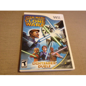 Star Wars The Clone Wars Lightsaber Duels Completo