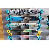 Skate Longboard Importado Pode Molhar Frete Gratis C/ Chave