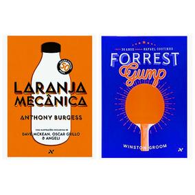 Livro Laranja Mecânica Ed 50 Anos + Forest Gump Ed 30 Anos