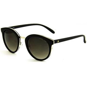Oculos Sol Atitude At5352 A02 Preto Fos Lente Marrom Degradê d9d1dabd9d