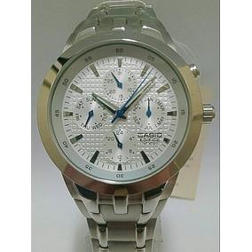 eedcdd833dc Relógio Masculino Casio Edifice Analógico 97010g0cena2 Aço · Relógio Casio  Todo De Aço Masculino Com Calendário Ef-312d