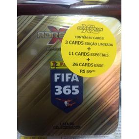 Lata Colecionador Fifa 365 Adrenalyn Xl 40 Cards