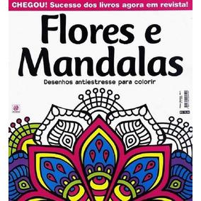 Revista De Colorir - Flores E Mandalas - Nº01