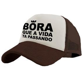 Bone Bora Que A Vida Ta Passando - Bonés para Masculino em São Paulo ... 0cebc103b4d