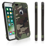 Estuche Apple iPhone 8 Plus Boxwave Camosuit Camoflage Print