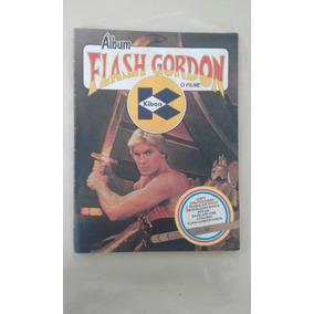 Album De Figurinha Flash Gordon Kibon Incompleto Anos 80