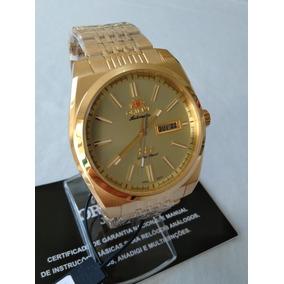 d543cd09c79 Relogio Orient Automatico Dourado - Relógio Orient no Mercado Livre ...