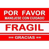 5 Etiquetas Frágil