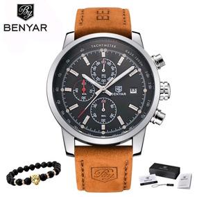 Relógio Benyar Luxo Original Em Promoção, Barato, Estiloso.