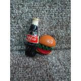 Iman Refresco Con Hamburguesa Refrigerador * Changoosx