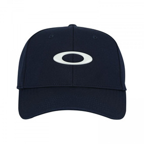 Boné Aba Curva Oakley Tincan - Fechado - Azul Escuro 17c74e700ee