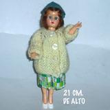 Muñecas Antiguas Años 60 De Celuloide,cierran Ojos,20 Cm.