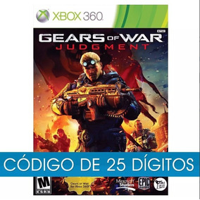 Gears Of War Judgement Xbox 360 E Xbox One 25 Digitos