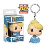 Llavero Funko Pop Cinderella - Disney Coleccionables Full
