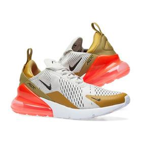 Tênis Nike Air Max 270 Fligth Gold Feminino