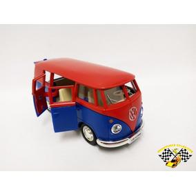 Miniatura Volkwagen Kombi 1962 Vermel Esc. 1:32 Rmz Raridade