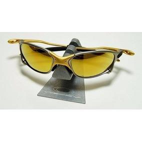 Juliet 24k Dourada - Óculos De Sol Oakley Juliet no Mercado Livre Brasil 99cf6e4134e