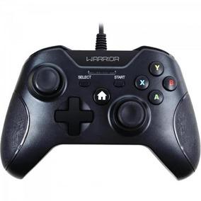 Controle Warrior Gamer P/ Xbox One E Pc Js078 Preto Multilas