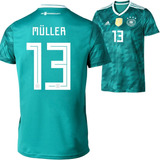 Camisa Alemanha 13 Muller Exclusiva - Futebol no Mercado Livre Brasil e7b0e78433a37