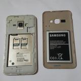 Celular Smartphone Samsung Galaxy J1 Mini Duos Desbl. Usado
