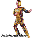 Disfraz Niño Ironman Iron Man Talla 10-12 Disfraces Avengers a2934829576