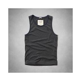 Camisetas Regatas Hollister E Abercrombie Originais c4de6664348