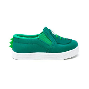 Tênis Infantil Masculino Pesh Slip On Jacaré Verde. R  75 79. 12x R  6 sem  juros a35ba2e7fb