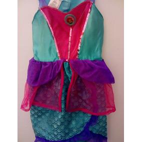 Hermoso Disfraz Princesa Sirenita Talla 4 Mod S31 Bailable