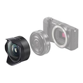 Lente Sony E Mount 16mm 2.8 A6300 A6500 Adaptador Fisheye