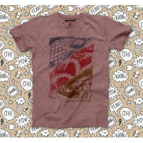 Playera Juego De Tronos Game Of Thrones Camiseta Geek