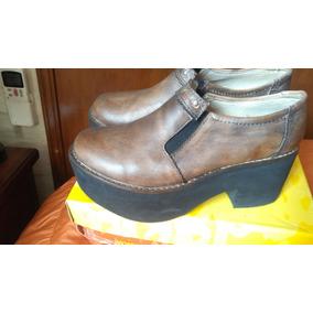 Zapatos N° 38 De Media Estación Y Botas N°39 . Cuero 9383bd108c7b7