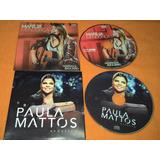 2 Cds Paula Mattos E Marilia Mendonça Capa De Papelao