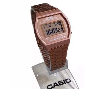 Relógio Feminino Casio B640-5adf Retrô Na Caixa