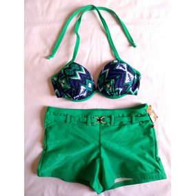 Biquini Shortinho - Biquinis Femininas no Mercado Livre Brasil 3fa8852f99fb0