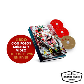 Abel Pintos La Familia Festeja Fuerte - Libro Fotos+2cds+dvd