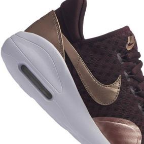 Tenis Casual Nike Air Max Color Vino P Dama Kw717 b491c8f169f