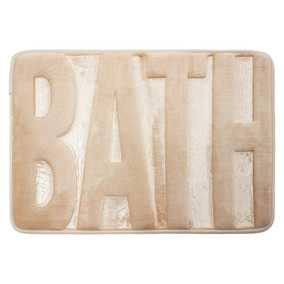 Tapete De Baño Memory Bath 40x60 Cm - Col Varios Env Gratis