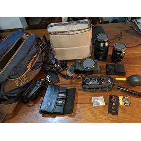 Barbada !! Câmera Sony Alpha 7rii Com 2 Lentes+kit Completo