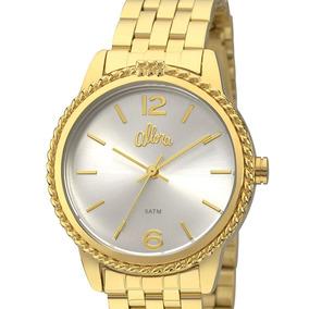 c522d0875db Kit Relogio Com Folheado Allora - Relógios De Pulso no Mercado Livre ...
