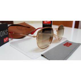 c00401f9ebacd Oculos De Sol Ray Ban Hexagonal Degradé - Óculos no Mercado Livre Brasil