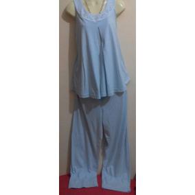 Saldos: La Mode Maternidad,pijama Blusa + Pantalón C/algodón