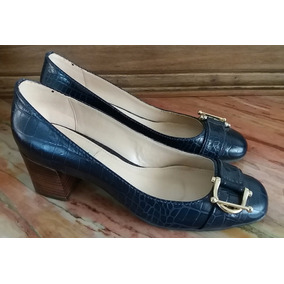 1fbe09f0eb7 Scarpin Azul Marinho Shoestock - Sapatos no Mercado Livre Brasil