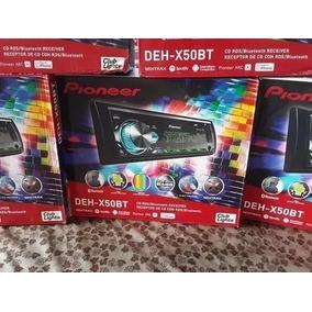 Radio Pioneer Deh X50 Cambia Colores Y Bluetooth 2018