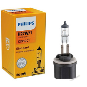 Lâmpada Philips Standard 27w 12v Pg13 H27w/1 Farol