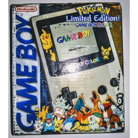 Game Boy Color - Game Boy Color Edition Pokémon Completo