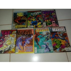 Origens Dos Super-heróis Marvel - 7 Eds - Abril