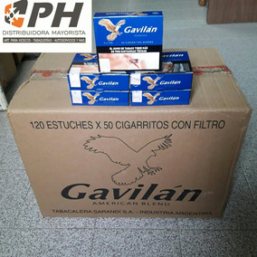 Cigarrillo Gavilan Negro (120 Cajitas De 50 Cigarrillos)$61,
