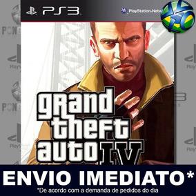 Grand Theft Auto Iv Gta 4 Ps3 Digital Psn Promoção