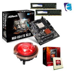 Processador Fx 8300 N68 Gs4 Ddr3 2x 4gb Tg Cooler Bc 02uar I