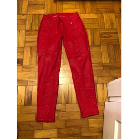 3478ae7ecc4 Calças Zara Calças de Couro Feminino no Mercado Livre Brasil